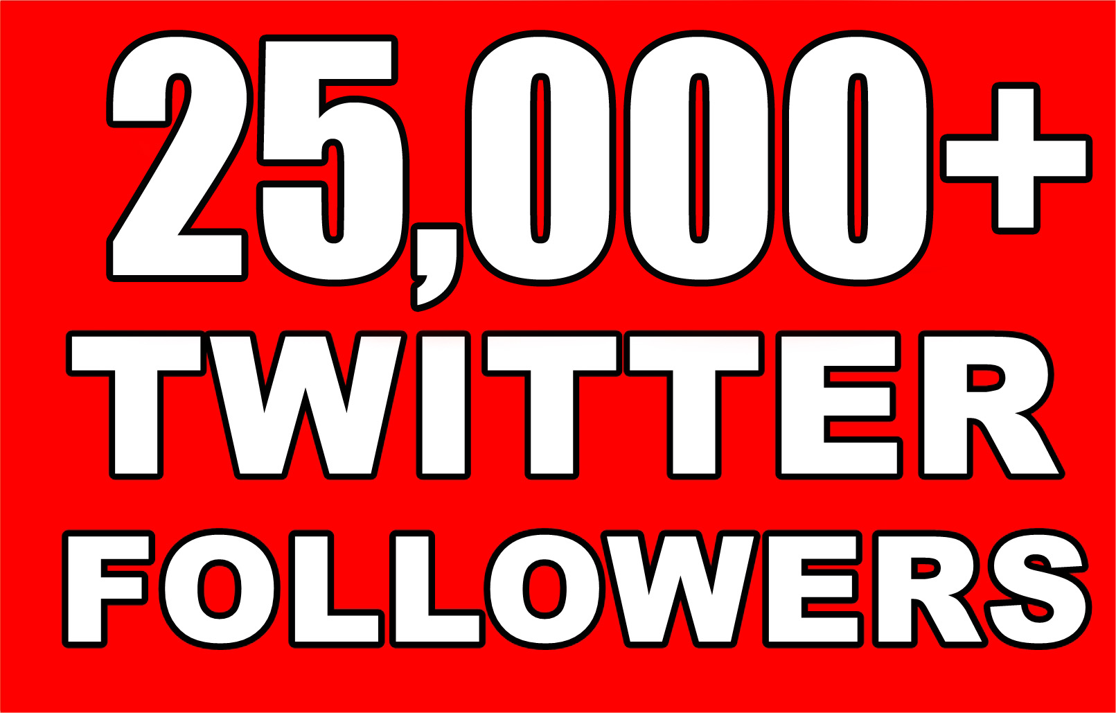 Provide Instantly 25000+ Permanent Twitter Followers Within 48 Hours
