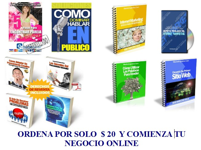 give you 50 Ebooks in Spanish MRR