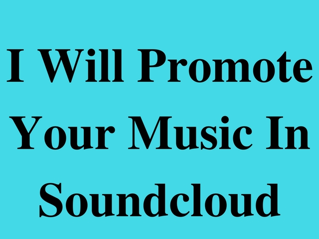 promote your Soundcloud Song
