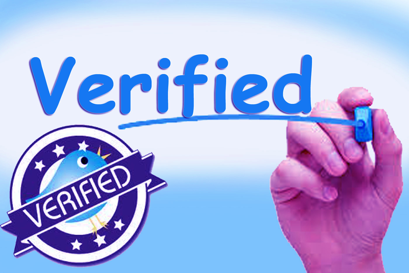 GET TWITTER BLUE BADGE IN LEGAL WAY.