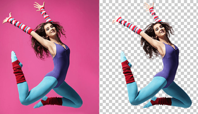 Remove Background Quickly By Photoshop