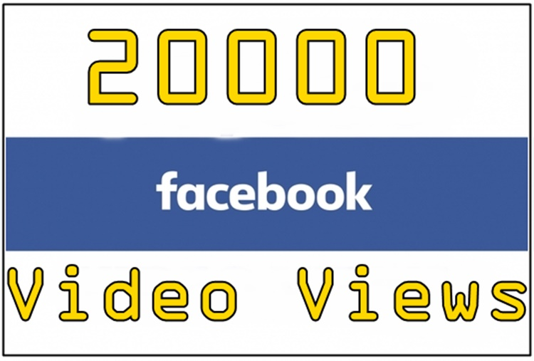 20,000 facebook video views