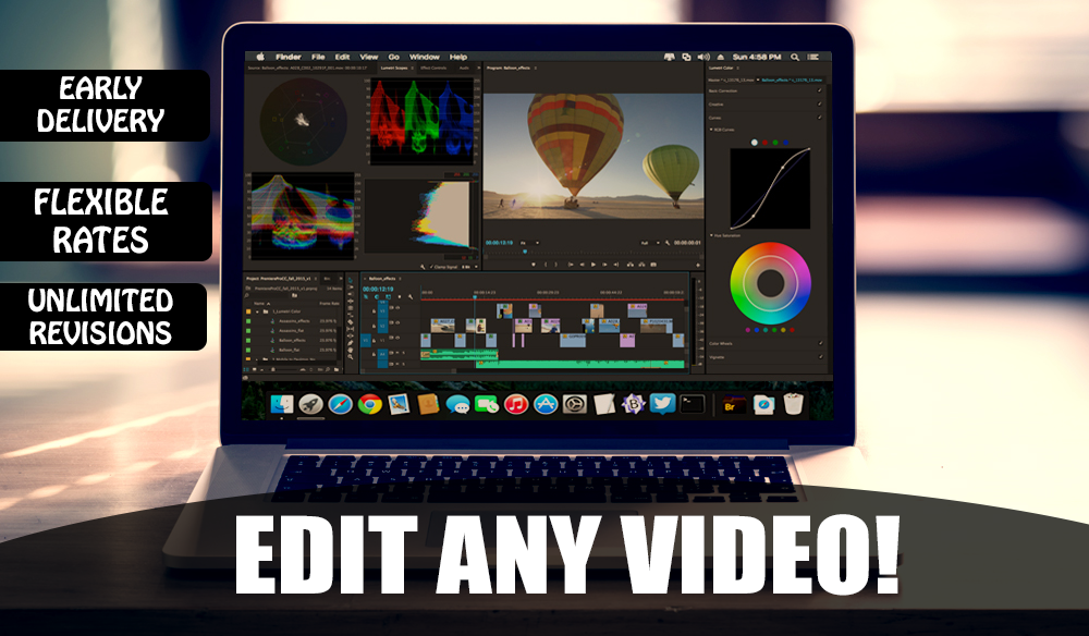 edit any video professionally
