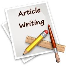 give you an opportunity to submit articles