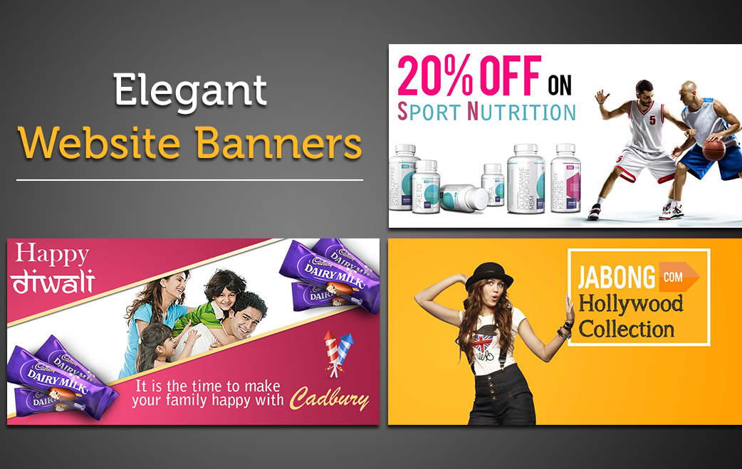 Design Elegant Website Banner
