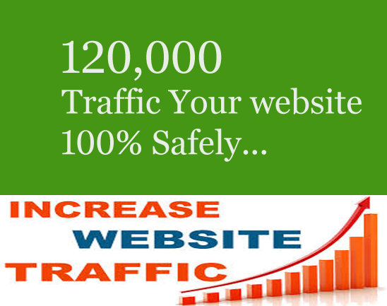 add 120,000+ Web Traffic your Site and Blog