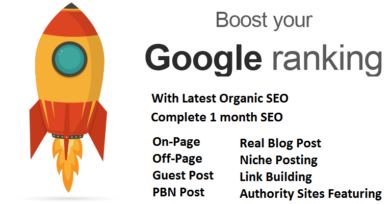 Get Your Site On Top Of Google, Complete One Month SEO