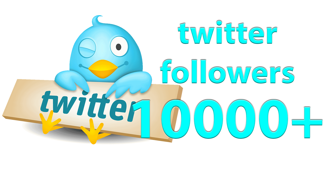 give 10,000 twitter followers instant nondrop