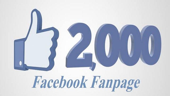 2000+ Nondrop Real Active Permanent High Quality facebook fanpage likes