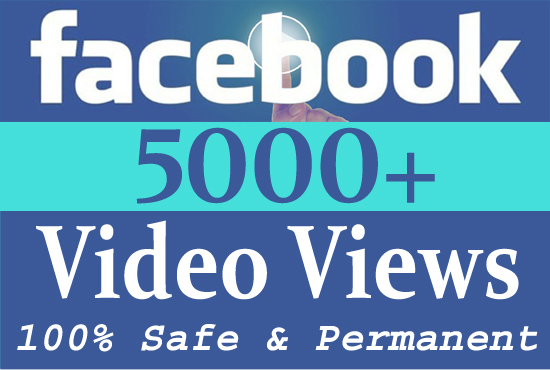 Give you 5000 facebook video views