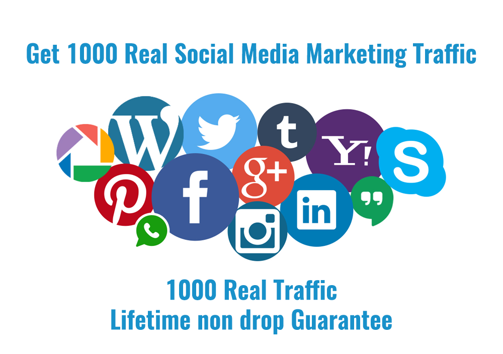 Get Unlimited Real Social Media Traffic