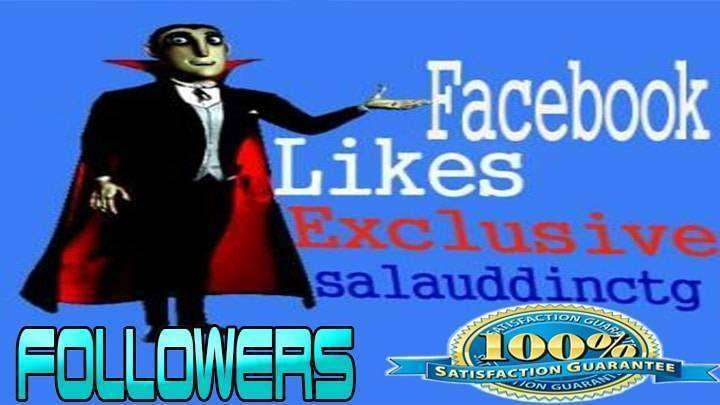 give you 1000+ Facebook Followers Non drop High Quality Real Active