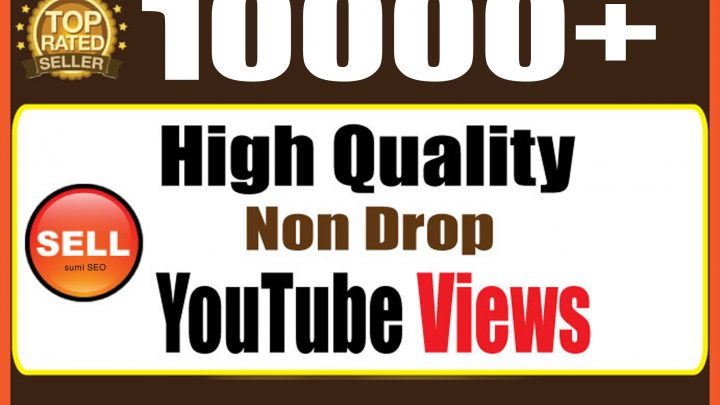 10,000+ Views High Quality Youtube Adsense Safe & Non Dro