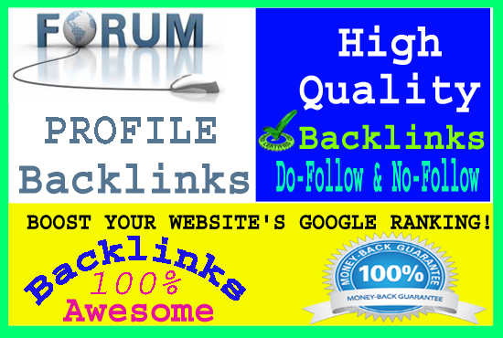 Create 1500 Forum Profiles Posting Backlinks