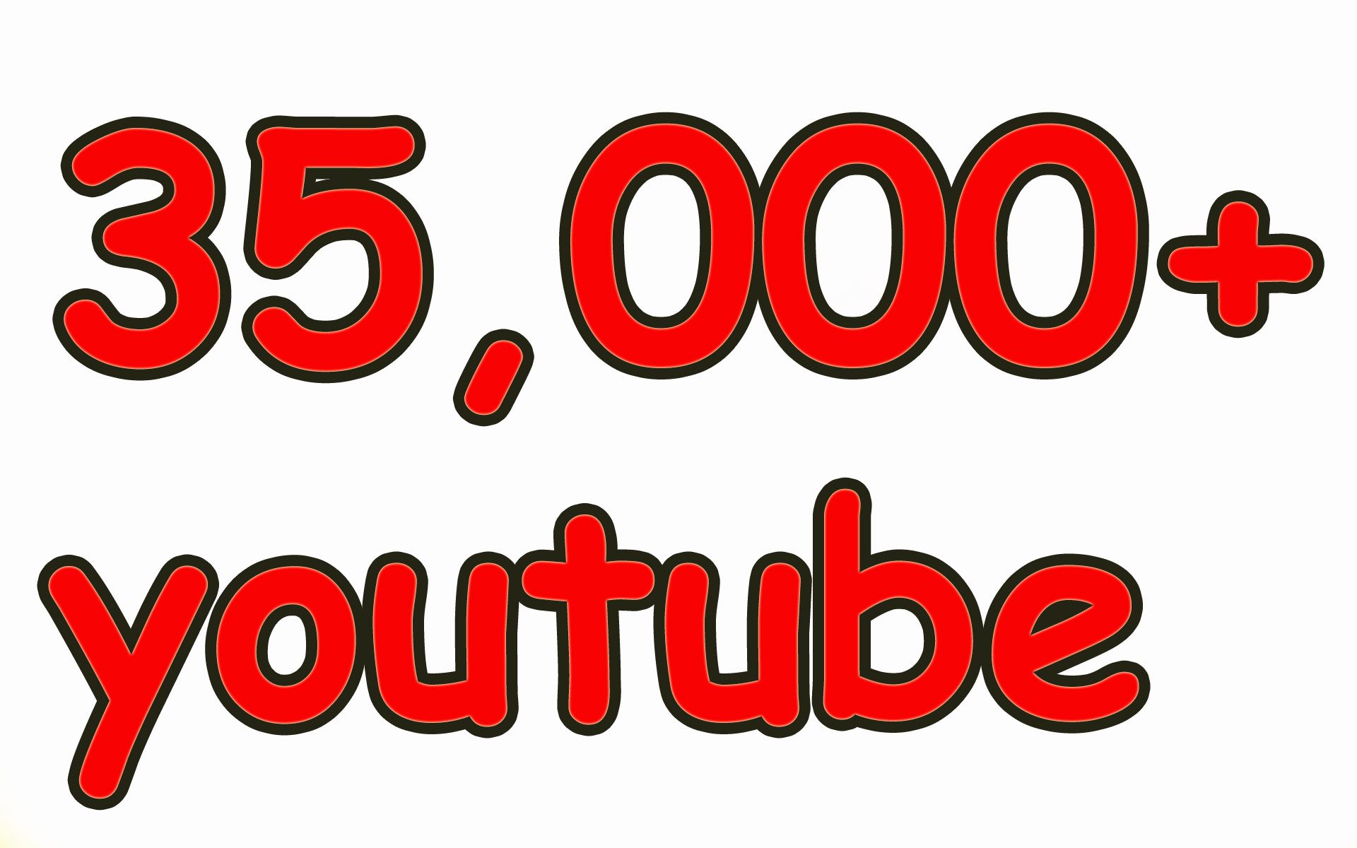 35,000 Nondrop High Quality youtube video views