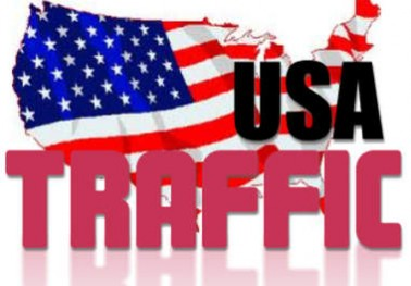 Give you 100,000 Guaranteed USA Visitors to your site with proofs