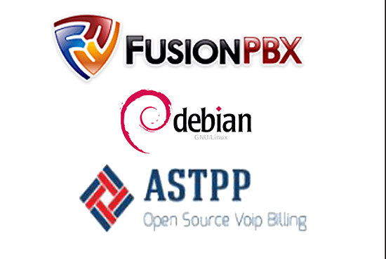 integrate astpp billing for fusionpbx on debian os
