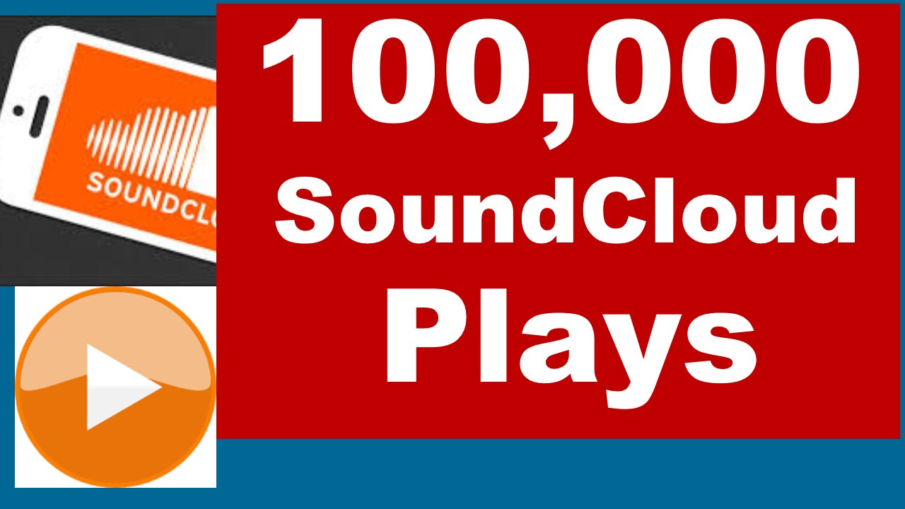 Get Instant 100, 000 Plays In Your SoundCloud Tracks in Less Than 8 Days