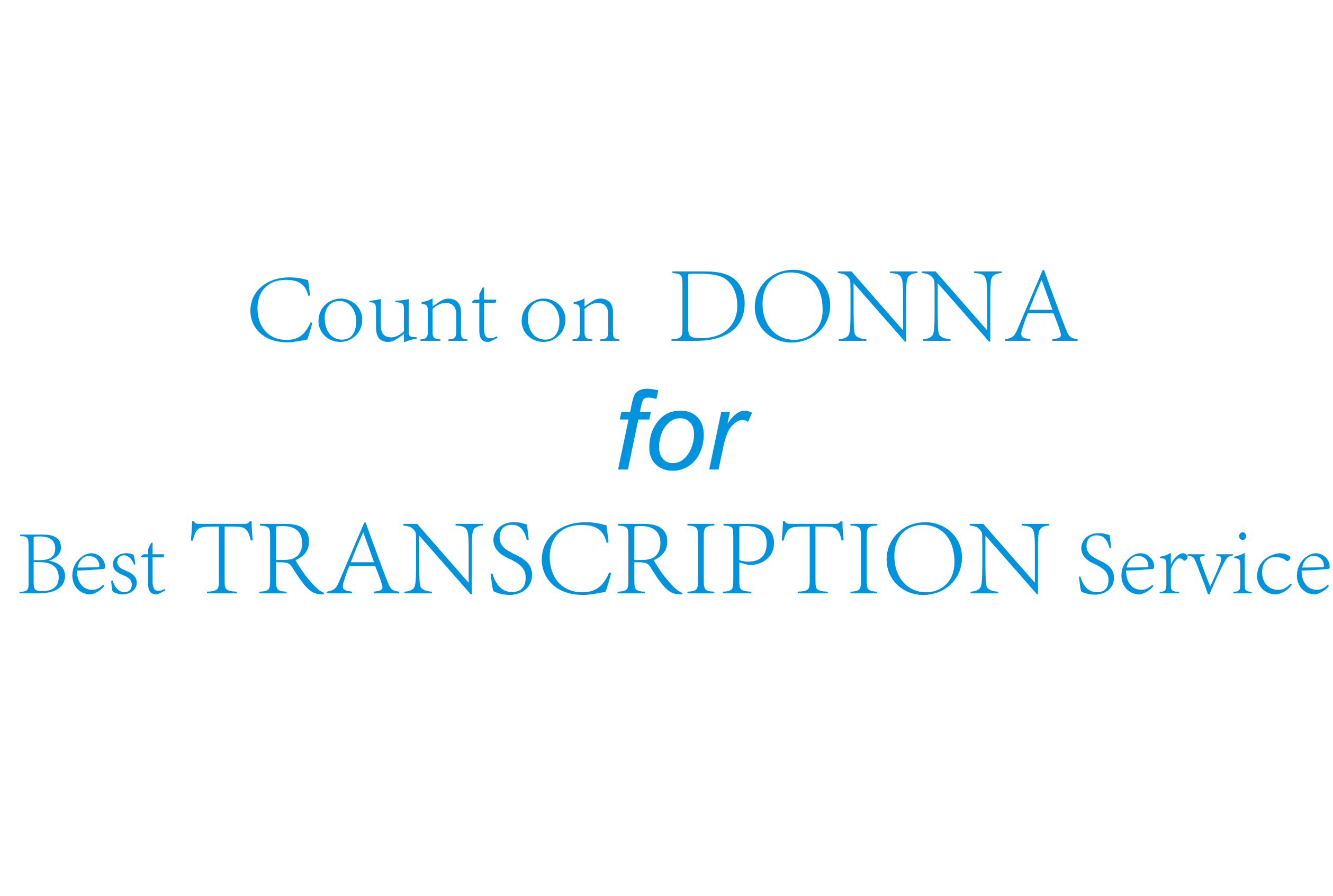 Impeccably do Transcription of any audio or video
