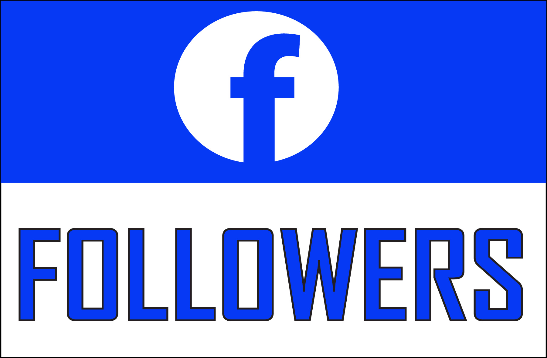 Add 500+ Facebook NON drop Followers