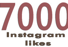 give you 7000 7k instagram likes