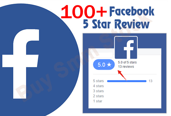 give you 100 Facebook five star rating on your fan page