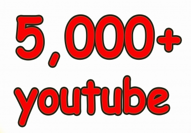 do marketing of your page with 5000+ HQ YouTube views