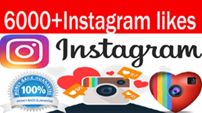Instagram 6,000 Instant Fast Non Drop (LIKES)