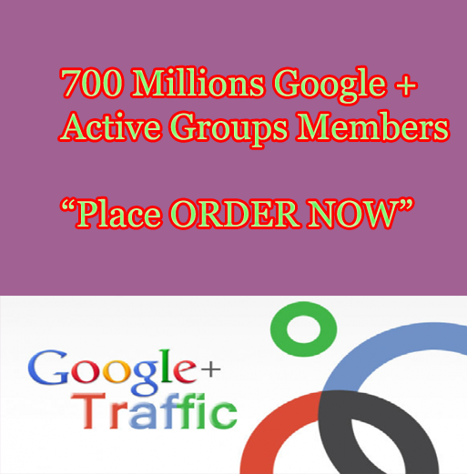 Promote your Link to 700 Millions Google Plus Groups Peoples