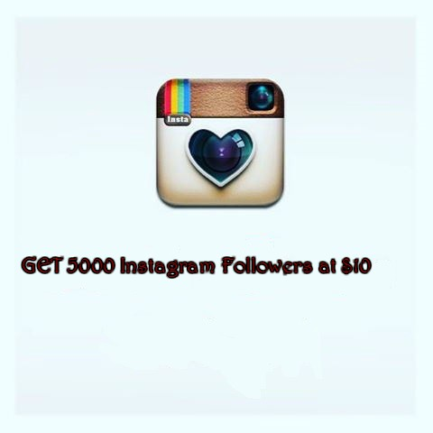 add 5000 instagram followers