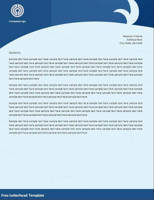 Design Letter Headed Paper for your Company