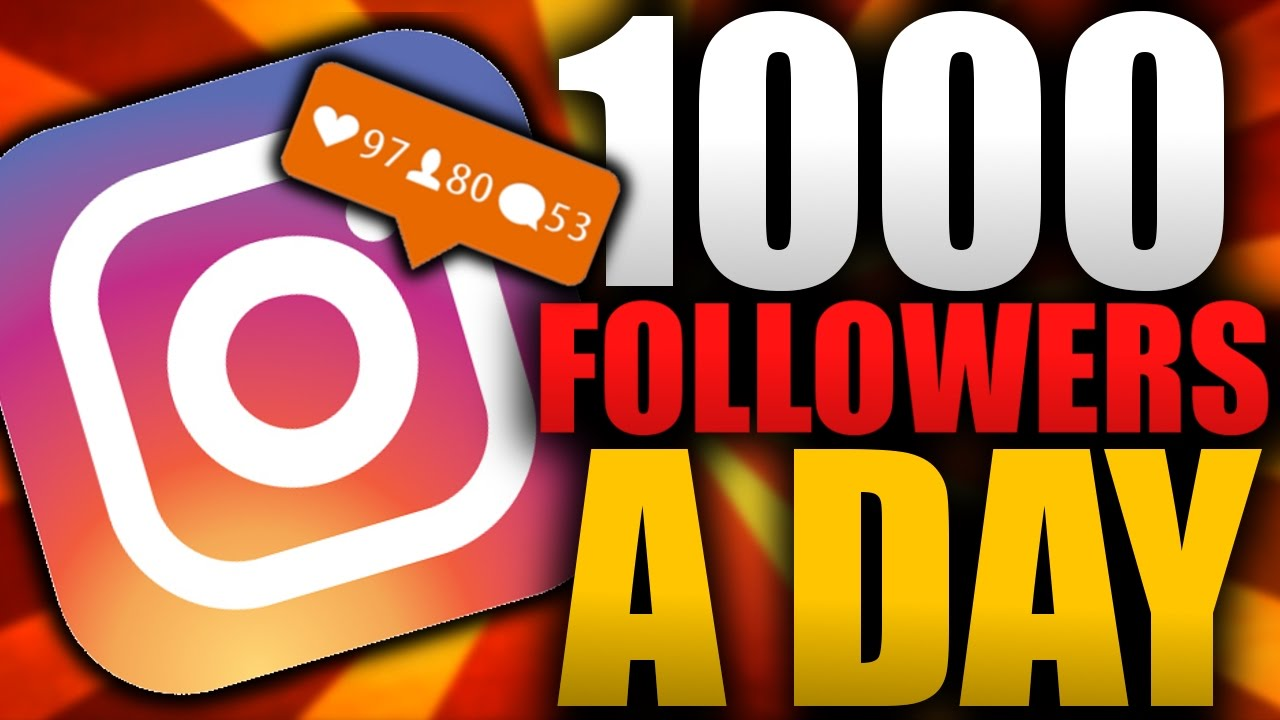 get you 1000 Instagram Followers, Likes, or Views.