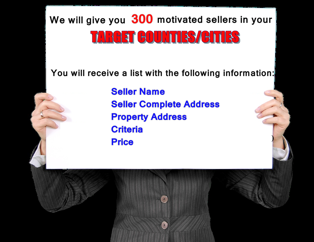 Research And Give 400 Real Estate Motivated Sellers And More