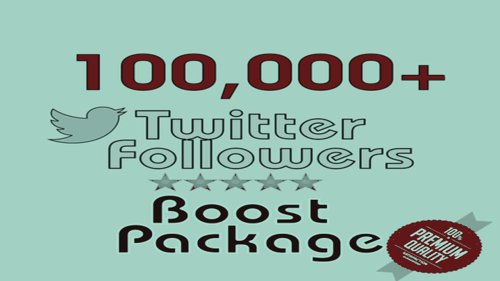100,000+ HQ Twitter Followers-Limited Time Offer