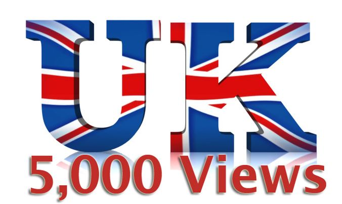 send you 5000 Real YouTube views from the UK