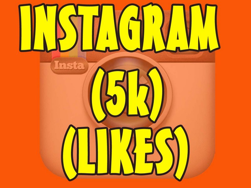 5000 instagram real picture likes or video views