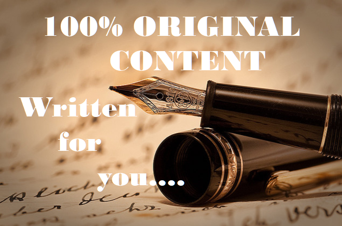 write beautiful and interesting articles for you