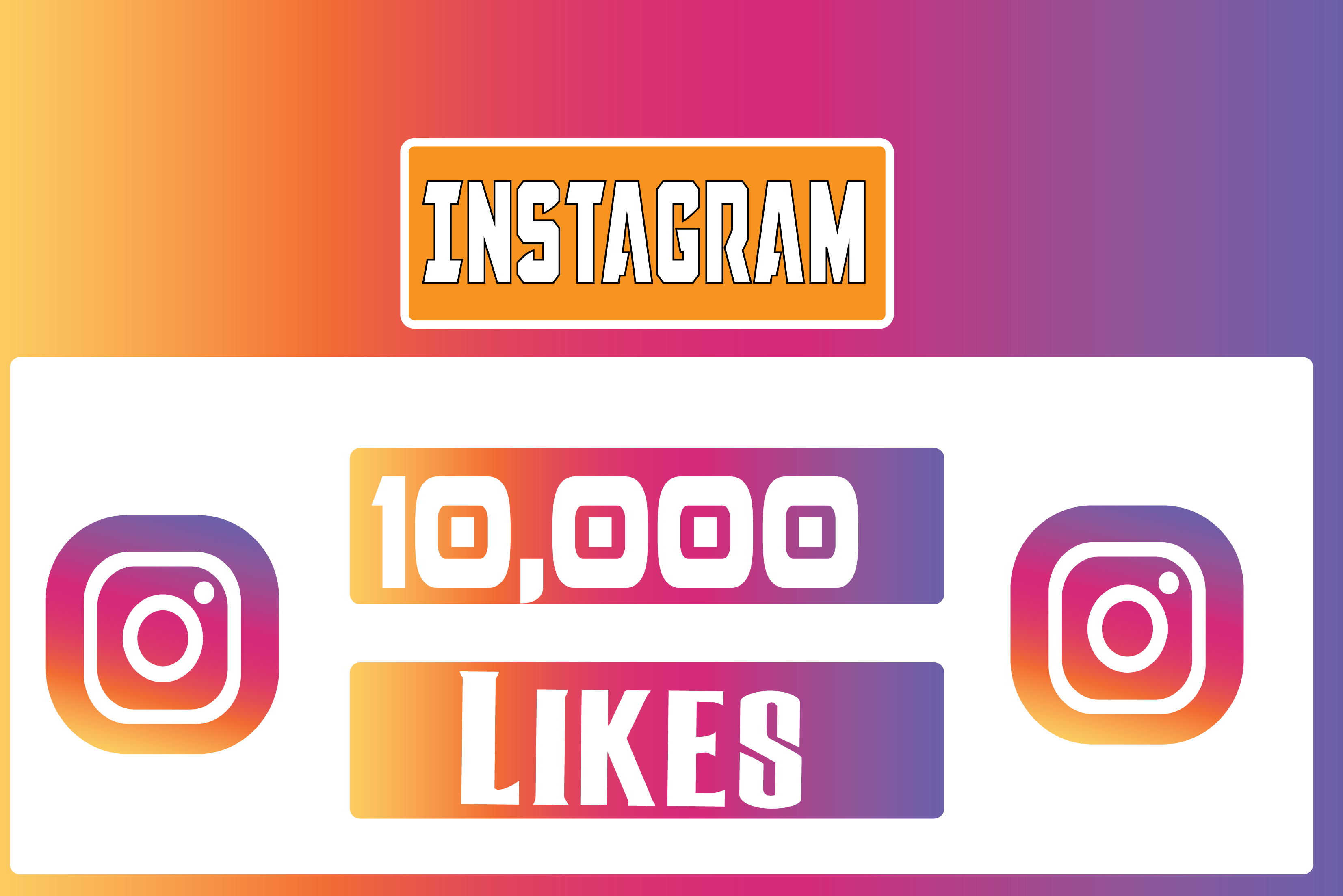 I will add 10k+ Instagram Post Likes Non Drop in 24 Hours! -Great Service – Fast Delivery – High Quality – 100% SAFE