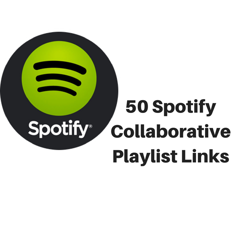 send you 50 Spotify collaborative playlist links