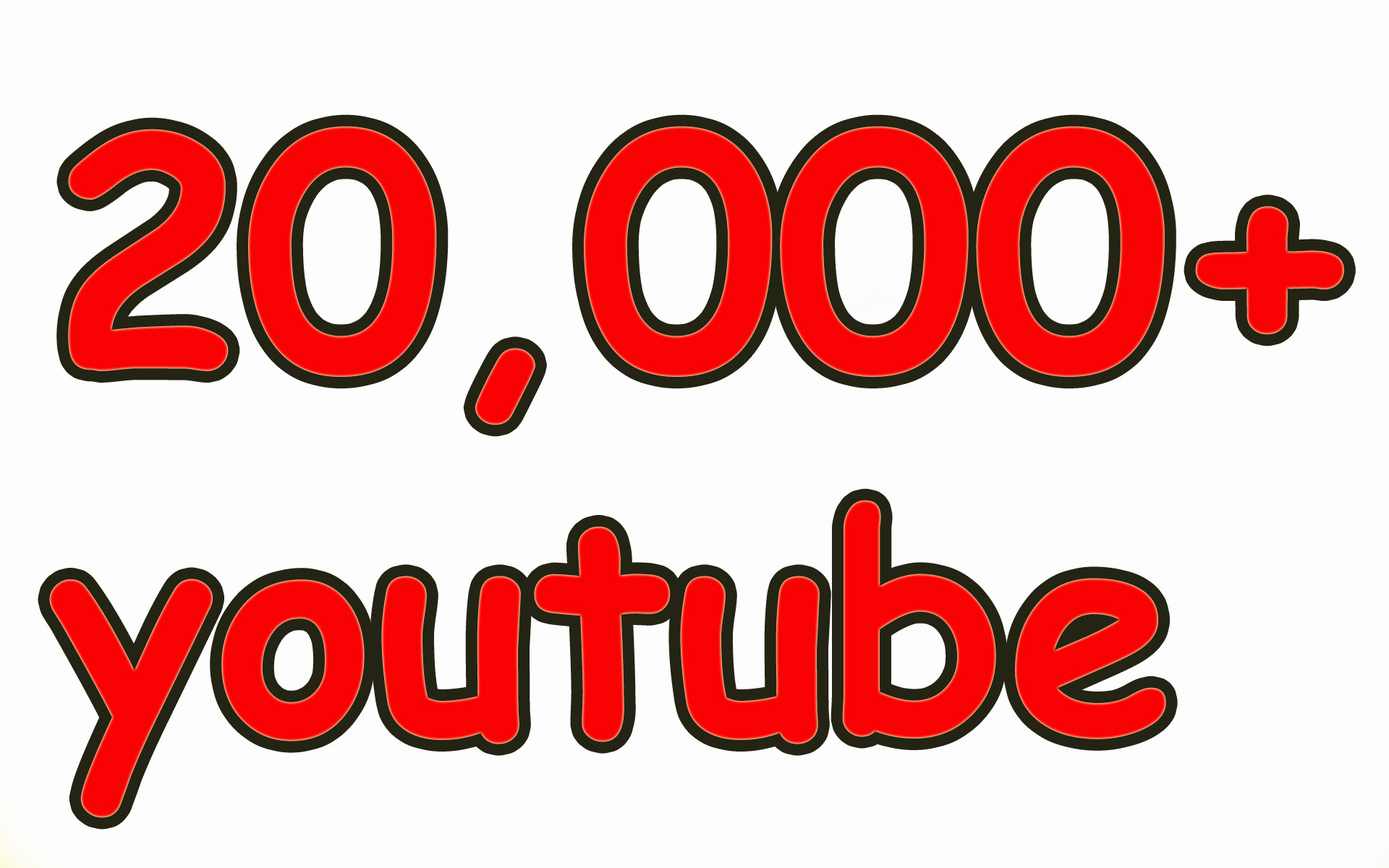 20,000 High Quality YouTube Views Fully Safe