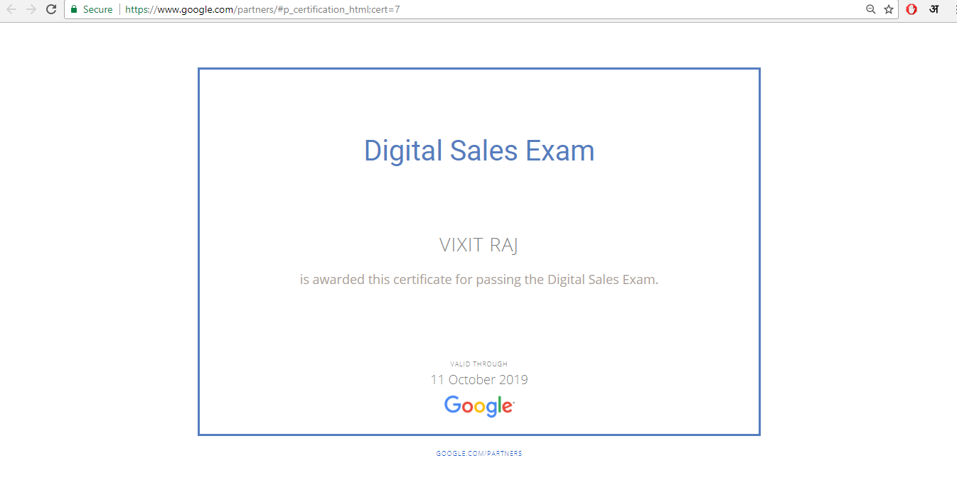 Pass Google digital sales certification for you