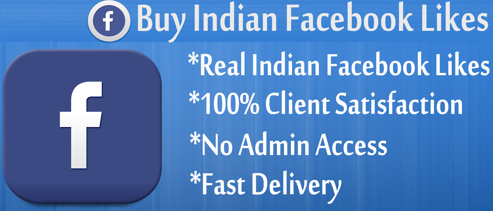 1000 Indian Facebook Page / Post Likes