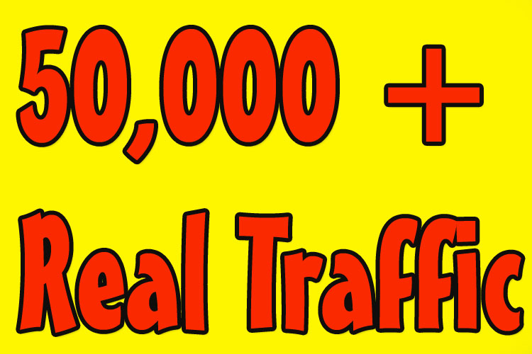 Drive 50,000 Traffic to Your Website