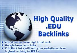 Write and publish articles in .edu sites of high Authority. You will get high Authority .edu links