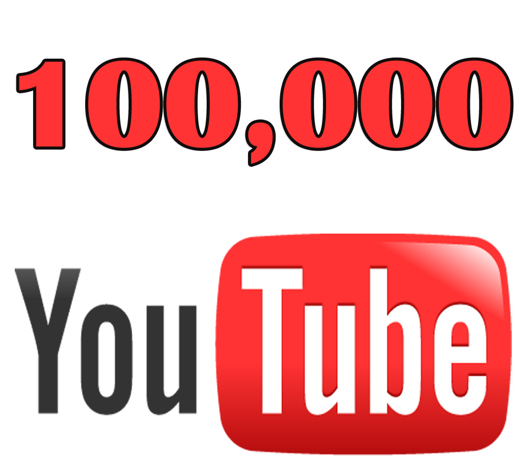 Get you 100000 Youtube Views