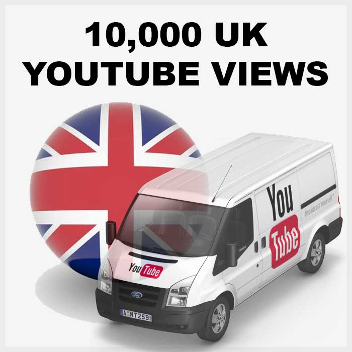 give 10,000 UK youtube views