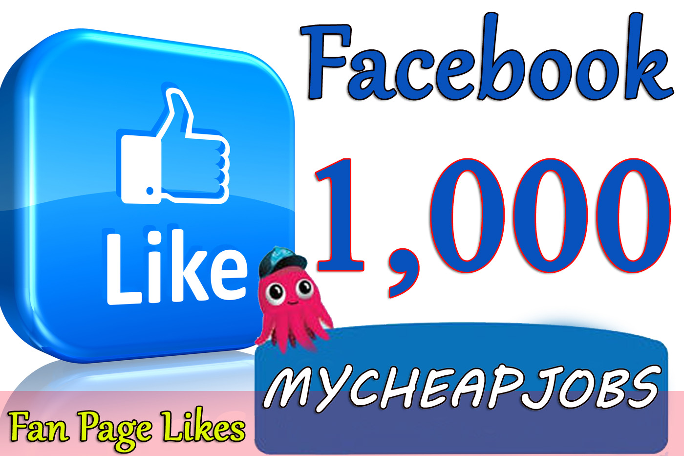 Gives you 1,000 Facebook Likes Real,& Fast Service try it now