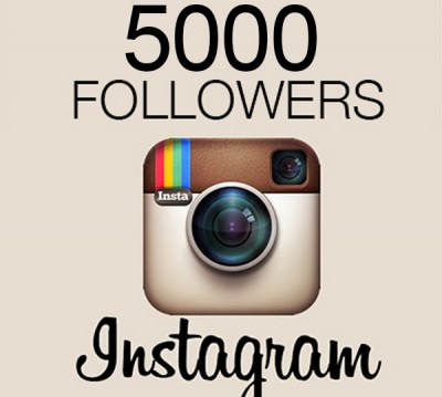 Provide you 5000 Instagram Real and active followers and 1k likes