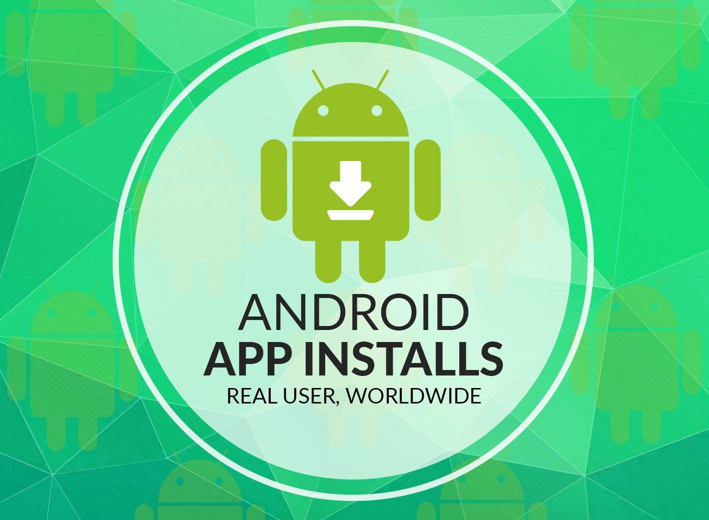 create 30 REAL Android Installs
