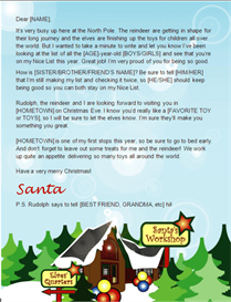 Make A Santa Letter & Certificate For Your Children